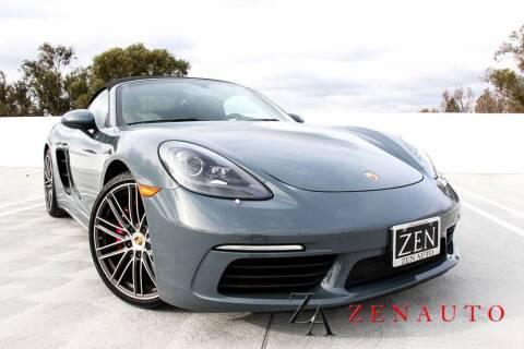 2017 Porsche 718 Boxster for sale at Zen Auto Sales in Sacramento CA