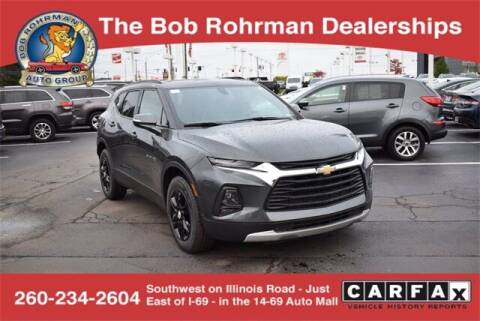 2019 Chevrolet Blazer for sale at BOB ROHRMAN FORT WAYNE TOYOTA in Fort Wayne IN