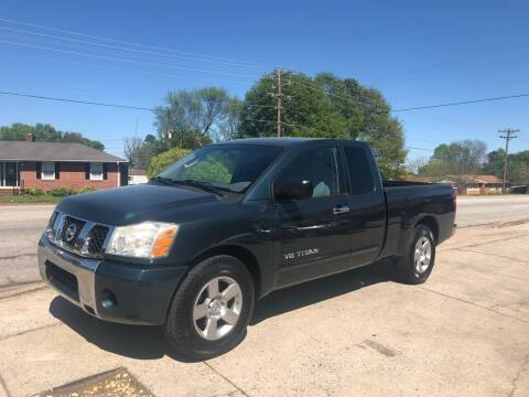 2006 Nissan Titan for sale at E Motors LLC in Anderson SC