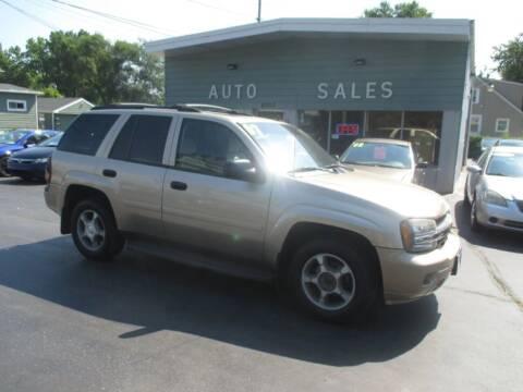 2007 Chevrolet TrailBlazer for sale at SHEFFIELD MOTORS INC in Kenosha WI