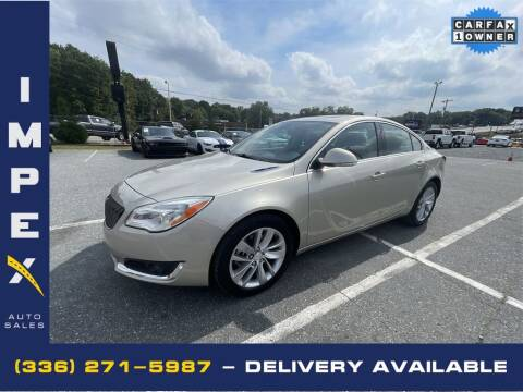 2016 Buick Regal for sale at Impex Auto Sales in Greensboro NC