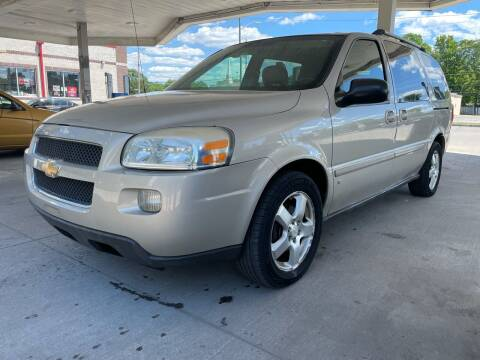 2008 Chevrolet Uplander for sale at JE Auto Sales LLC in Indianapolis IN