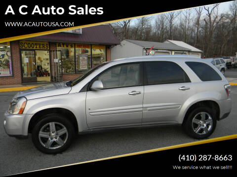 2009 Chevrolet Equinox for sale at A C Auto Sales in Elkton MD