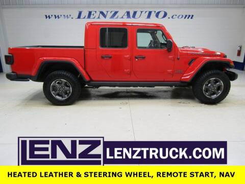 2020 Jeep Gladiator for sale at LENZ TRUCK CENTER in Fond Du Lac WI