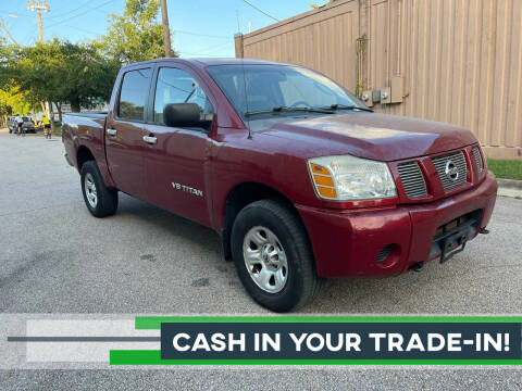 2007 Nissan Titan for sale at Horizon Auto Sales in Raleigh NC