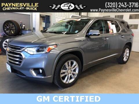 2018 Chevrolet Traverse for sale at Paynesville Chevrolet Buick in Paynesville MN