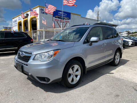 2016 Subaru Forester for sale at INTERNATIONAL AUTO BROKERS INC in Hollywood FL