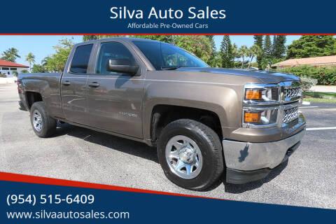 2014 Chevrolet Silverado 1500 for sale at Silva Auto Sales in Pompano Beach FL
