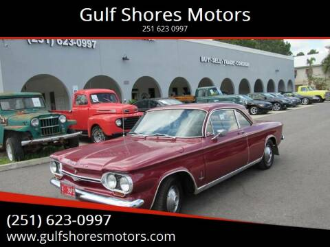 1963 Chevrolet Corvair for sale at Gulf Shores Motors in Gulf Shores AL