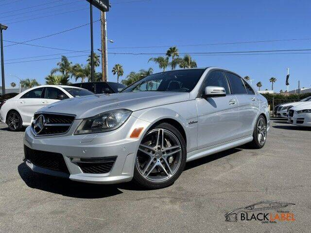 2012 Mercedes-Benz C-Class for sale at BLACK LABEL AUTO FIRM in Riverside CA