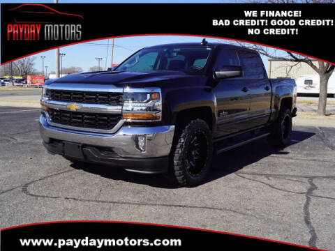 2018 Chevrolet Silverado 1500 for sale at Payday Motors in Wichita And Topeka KS