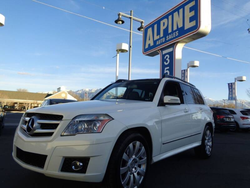 2011 Mercedes-Benz GLK for sale at Alpine Auto Sales in Salt Lake City UT