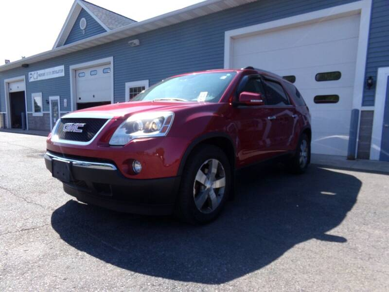 2012 GMC Acadia for sale at Pool Auto Sales Inc in Spencerport NY