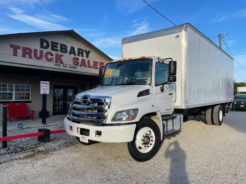 2019 Hino 268 for sale at DEBARY TRUCK SALES in Sanford FL