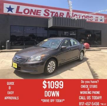 2011 Honda Accord for sale at LONE STAR MOTORS II in Fort Worth TX