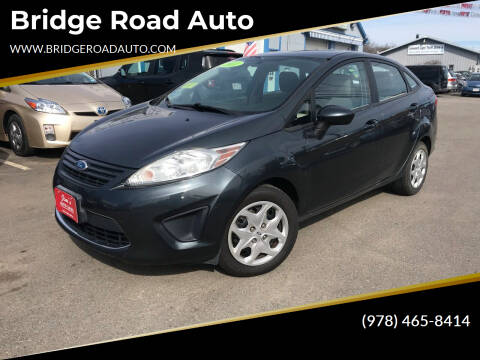 2011 Ford Fiesta for sale at Bridge Road Auto in Salisbury MA
