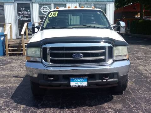 2003 Ford F-350 Super Duty for sale at Arak Auto Group in Bourbonnais IL