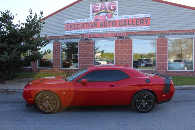 2018 Dodge Challenger for sale at EXECUTIVE AUTO GALLERY INC in Walnutport PA