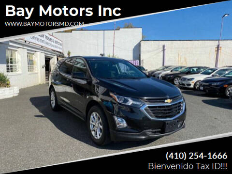 2019 Chevrolet Equinox for sale at Bay Motors Inc in Baltimore MD