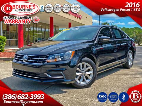 2016 Volkswagen Passat for sale at Bourne's Auto Center in Daytona Beach FL