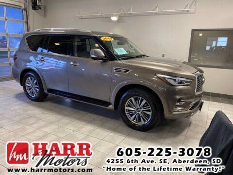 2019 Infiniti QX80 for sale at Harr's Redfield Ford in Redfield SD