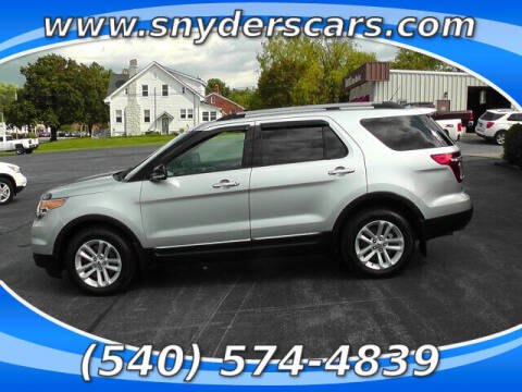 2014 Ford Explorer for sale at Snyders Auto Sales in Harrisonburg VA
