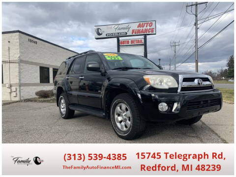 2006 Toyota 4Runner for sale at The Family Auto Finance in Redford MI