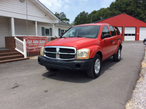 2004 Dodge Durango for sale at Ace Auto Sales - $1200 DOWN PAYMENTS in Fyffe AL