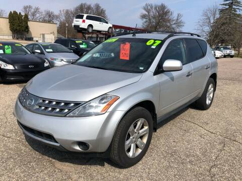 2007 Nissan Murano for sale at River Motors in Portage WI