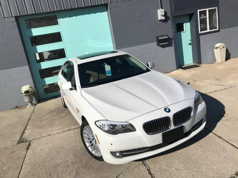 2011 BMW 5 Series for sale at Enthusiast Autohaus in Sheridan IN
