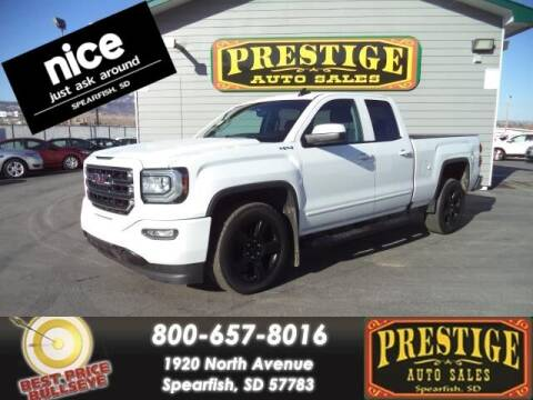 2018 GMC Sierra 1500 for sale at PRESTIGE AUTO SALES in Spearfish SD