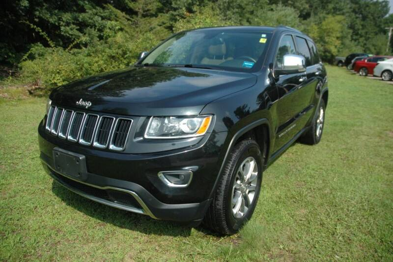 2016 Jeep Grand Cherokee for sale at Bruce H Richardson Auto Sales in Windham NH