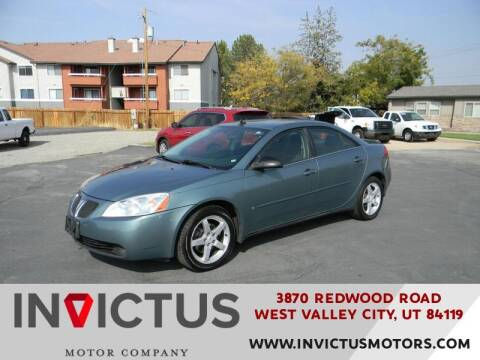 2009 Pontiac G6 for sale at INVICTUS MOTOR COMPANY in West Valley City UT