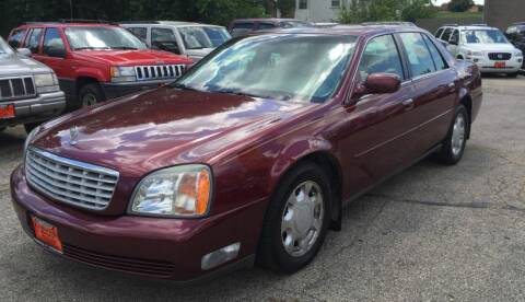 2000 Cadillac DeVille for sale at Knowlton Motors, Inc. in Freeport IL