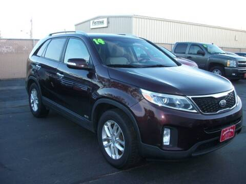 2014 Kia Sorento for sale at Lloyds Auto Sales & SVC in Sanford ME
