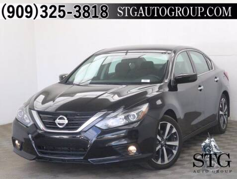 2017 Nissan Altima for sale at STG Auto Group in Montclair CA