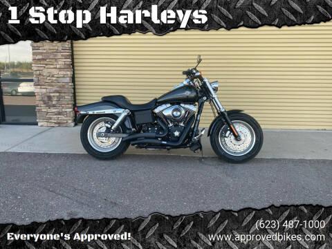 2009 Harley Davidson Fatbob for sale at 1 Stop Harleys in Peoria AZ
