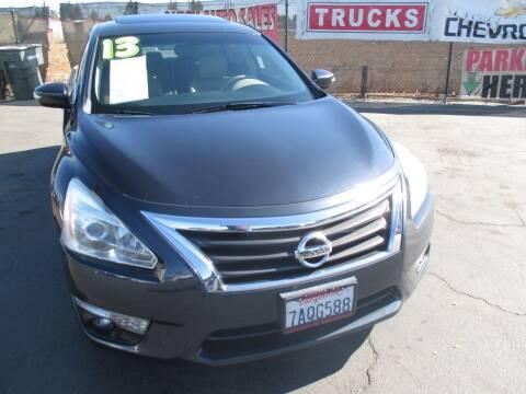 2013 Nissan Altima for sale at Quick Auto Sales in Modesto CA