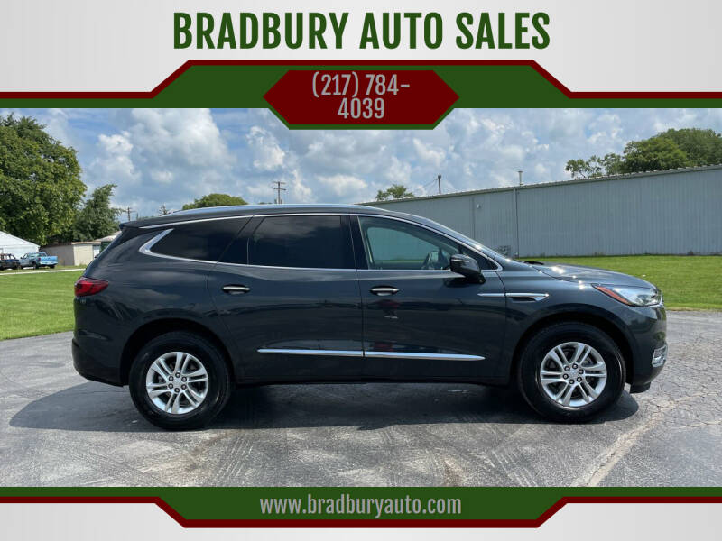 2020 Buick Enclave for sale at BRADBURY AUTO SALES in Gibson City IL