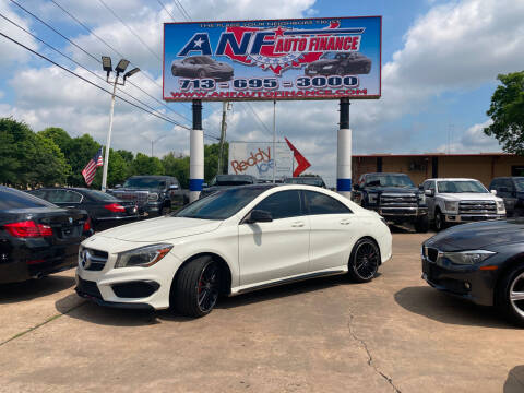 2014 Mercedes-Benz CLA for sale at ANF AUTO FINANCE in Houston TX