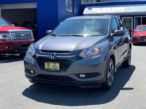 2018 Honda HR-V for sale at AGM AUTO SALES in Malden MA
