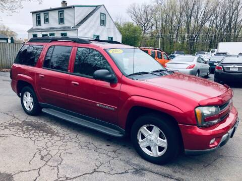 2003 Chevrolet TrailBlazer for sale at SHEFFIELD MOTORS INC in Kenosha WI