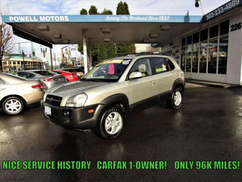 2007 Hyundai Tucson for sale at Powell Motors Inc in Portland OR