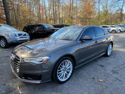 2016 Audi A6 for sale at Car Online in Roswell GA