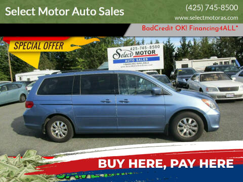 2008 Honda Odyssey for sale at Select Motor Auto Sales in Lynnwood WA