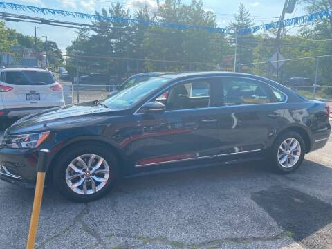 2017 Volkswagen Passat for sale at PELHAM USED CARS & AUTOMOTIVE CENTER in Bronx NY