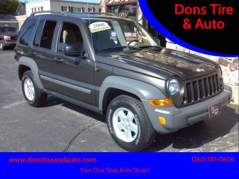 2006 Jeep Liberty for sale at Dons Tire & Auto in Butler WI
