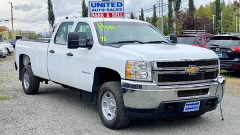 2011 Chevrolet Silverado 2500HD for sale at United Auto Sales in Anchorage AK