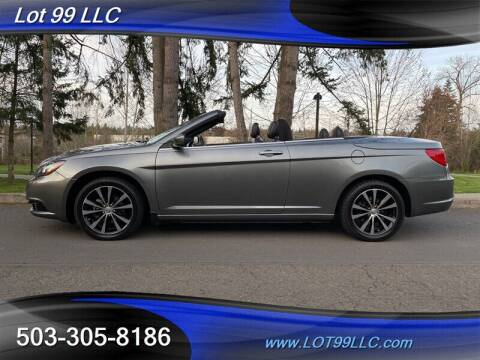 2011 Chrysler 200 Convertible for sale at LOT 99 LLC in Milwaukie OR