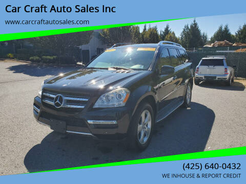 2012 Mercedes-Benz GL-Class for sale at Car Craft Auto Sales Inc in Lynnwood WA